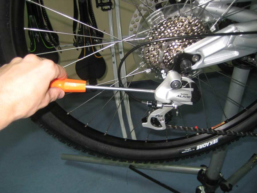 лапка на велосипед для передачи скоростей подвесного одноуровневого